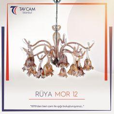 Rüya Mor 12 Avize, kendine özgü tasarımıyla evlerin dekorasyonunda farklılık yaratıyor. ✨ ►https://goo.gl/bSAq15 #tavcam #avizetasarım #salonavizeleri #moravize #aydınlatma #ışık #art #homedesign #avizemodelleri #rüyaavize