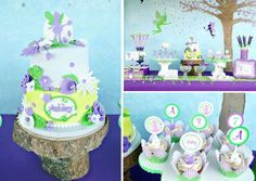 Tinker Bell Birthday Party via Kara's Party Ideas karaspartyideas.com #tinker bell #party #ideas