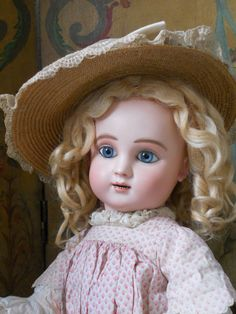 ~~~ Beautiful French Bisque BeBe Figure C. by Steiner ~~~