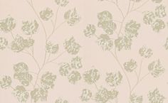 Bonica (110582) - Harlequin Wallpapers - A enchanting trailing leaf design, shown here in blush, gold and gilver with metallic highlights. Other colourways are available. Please request a sample for a true colour match. Paste the wall product.