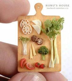Nunu's House... Cute miniatures despite the disturbing name!