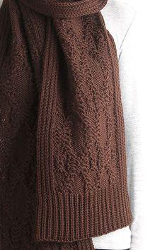 knit scarf cable knit scarf long knit scarf chunky knit by VONANA