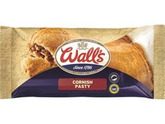 WALL'S CORNISH PASTY (2014) | Updated packaging     ✫ღ⊰n