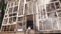 Nick Olson & Lilah Horwitz quit their jobs and built a house of found windows.