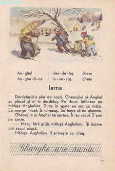 Abecedar 1959 – Un zâmbet de copil… Kids Poems, Vintage School, Kids Education, My Childhood, Vintage World Maps, Nostalgia, Old Things, Memories, Activities
