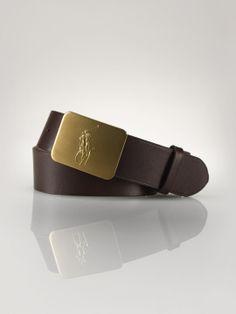 Pony-Buckle Leather Belt - Accessories Boys 8–20 - RalphLauren.com a9f10a2b124b