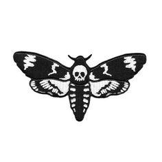 Moth patch zwart - One size - Killstar