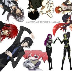 Awesome people in Anime
