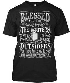 Writers, Artists, Dreamers - ENDING SOOn. I have this in Red of course