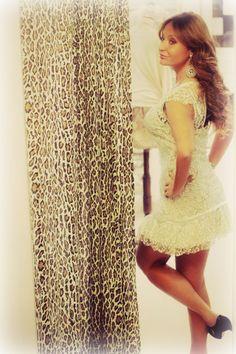 #abito di pizzo #bianco e #nero #strepitoso