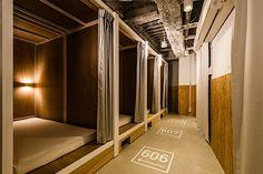 Das Bunka Hostel: Privatsphäre im Schlafsaal  Hostels sind eine kostengünstige Möglichkeit, im Ausland die Nacht zu verbringen. Allerdings musst du in solchen Häusern häufig auf Privatsphär...
