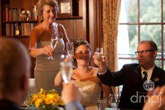 Julia & Scott: Mini wedding celebration -- Everyone was encouraged to say a little something