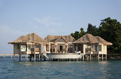 10 Amazing Overwater Bungalows --- Song Saa Private Island, Koh Ouen and Koh Bong, Cambodia