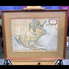 "Jill Giles — associate producer — chose this 1650 Map of North America, ""Amerique Septentrionale"" as one of her favorite items. It was a not an easy task for her to choose!"