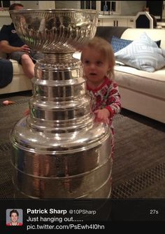 Madelyn Sharp and the cup