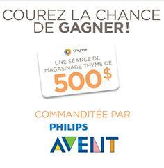 Gagnez 500 $ pour Thyme Maternité. Fin le 31 janvier.   http://rienquedugratuit.ca/concours/thyme-maternite-carte-cadeau/