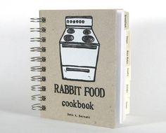 Rabbit Food Cookbook  vegan vegetarian recipes and di BethBee, $30.00