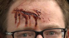 When making a scary movie, the horror you want your audience to feel should come from the terrifying monsters and well-timed surprises -- not bad makeup. One of the more challenging aspects of making horror films, or any movie that calls for extensive bloody makeup, is making wounds look real. Adam Savage's (Mythbusters) YouTube channel, Tested, visits effects artist Frank Ippolito, a contestant on Sy Fy's special effects make-up competition series, Face Off, at his shop in LA to find...
