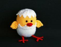 Ravelry: Easter chicken hatched from egg pattern by Tatyana Korobkova