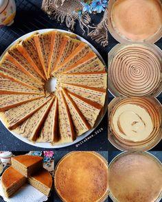 LAPIS SUSU JENTIK MANIS by Vita Lim - langsungenak.com Asian Recipes, Sweet Recipes, Lapis Legit, Resep Cake, Japanese Cheesecake, Candy Recipes, No Bake Cake, Baking, Tableware