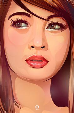 Vincent Rhafael Aseo est un artiste freelance des Philippines spécialisé dans les illustrations vectorielles. Son style aux couleurs vives donne beaucoup de dynamisme à ses portraits. Pour en découvrir plus sur cet artiste, rendez-vous sur son portfolio, son profil Behance ou encore sa page Facebook.