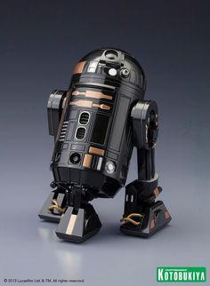 Emperor Palpatine's astromech droid R2-Q5