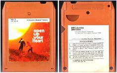 Various Artists / Open Up Your Heart - Vol. 7 / Columbia House 1A1-6116 (8-Track Tape), $3.50