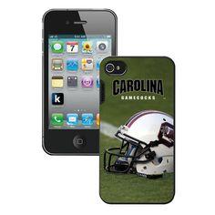 Ncaa Iphone 4 Case- Helmet South Carolina Gamecocks