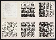 """garadinervi:  """" Peter Struycken, Computer Structures 1-1a, 2a, 3a, 4, Offset lithographs on board, 1969  """""""
