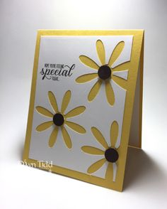 Everything's Coming Up Daisies? Dawn Tidd Stampin Up 2017-2018 Daisy Punch