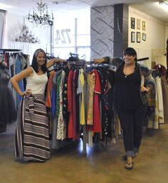 Antique Sugar in Midtown Phoenix has some of the best affordable vintage clothing in the Valley, and a huge selection. Get the scoop, and read our interview with the owners! Vintage Clothing, Vintage Outfits, Vintage Shops, Phoenix, The Selection, Interview, Sugar, Antiques, Blog