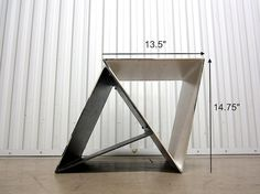 Designed to be used inside as a small table or stand. Assembles via four machine screws. Small Tables, Hardware, Etsy, Design, Products, Small End Tables, Computer Hardware, Side Tables