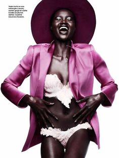 Ataui Deng, African Fashion Models, Black fashion Models, Jacob Sadrak