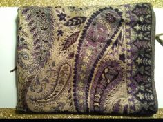Exquisite designed paisley pashmina. Available at an Atlanta estate April 21st.