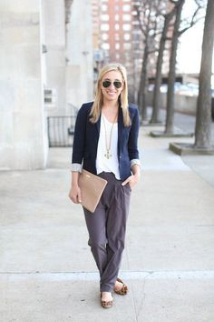 Athleta's Easy Peezy pant - perfect for the office, and perfect over your hot yoga shorts