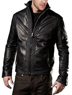 WESTERN LEATHER 1  of 5 - Western Leather Men's Lambskin Leather Bomber Biker Jacket Large Black Western Leather http://www.amazon.com/dp/B00XXR65B0/ref=cm_sw_r_pi_dp_Yy8Gwb1919D03