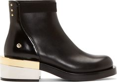 Givenchy - Black Leather Milaura Ankle Boots