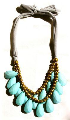 New Punch Necklaces as seen on Redbook.com {Ten Color Options} $34 SwellCaroline.com