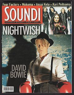 Finnish Soundi Magazine 5/2004 David Bowie Nightwish Cover Eagles Of Death Metal
