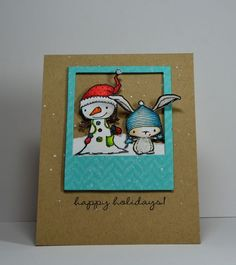 Kelly Booth - Winterberry & Birch Happy Holidays Card