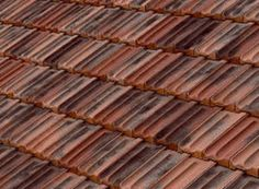 Tejas Borja French Roof Tile Has Two Curved Lines As A Barrel Pan Effect