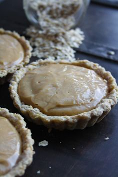 Whiskey Butterscotch Tartlets