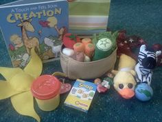 Flame: Creative Children's Ministry: Creation Story at Home Bag