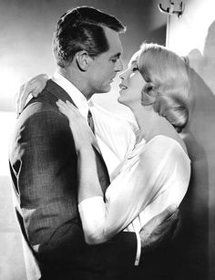 Cary Grant and Eva Marie Saint in 'North by Northwest', 1959.