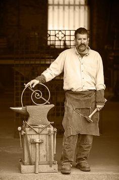 Blacksmith by John Burke