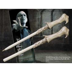 Cane type ballpoint pen & bookmark of Harry Potter magic (Voldemort) (japan import) @ niftywarehouse.com #NiftyWarehouse #HarryPotter #Wizards #Books #Movies #Sorcerer #Wizard