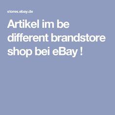 Artikel im be different brandstore shop bei eBay !