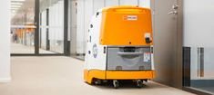 Industrial cleaning robot