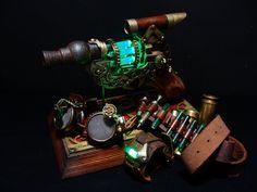 clockwork vapouriser steampunk tay-gun- coooooooool