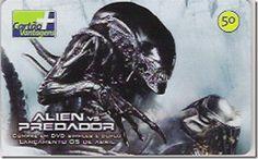 Descrição: Série: Alien vs. Predador (01/06) Operadora: telefônica Tiragem…